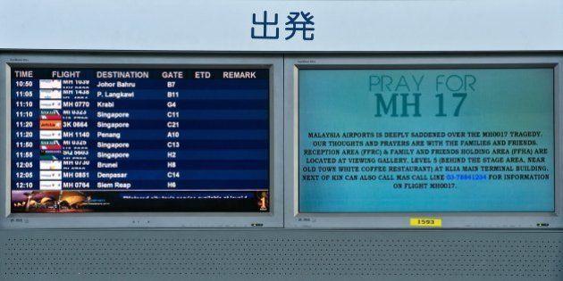 Malaysia Airlines: une centaine de victimes du MH17 étaient des employés de l'Organisation mondiale de...