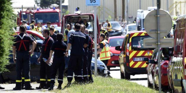 Attentat en Isère: un pompier du SDIS38 a permis l'arrestation de l'auteur