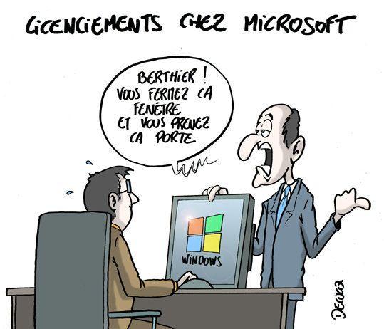Microsoft: 18.000 fenêtres se