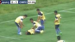 Un footballeur indien se tue en célébrant son