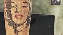 PHOTOS. Ces tatouages en points de croix qui pourraient plaire à votre