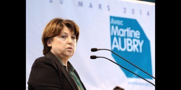 Carte des régions: Martine Aubry dénonce l'improvisation façon