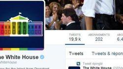 La Maison-Blanche se met aux couleurs du mariage gay sur ses réseaux