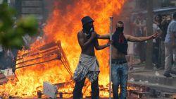 Les affrontements à Paris en