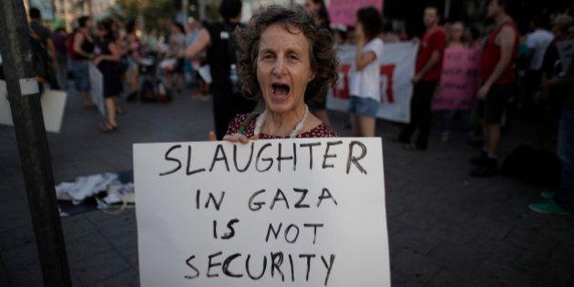 REPORTAGE - La colère des Israéliens modérés contre l'intervention dans la bande de