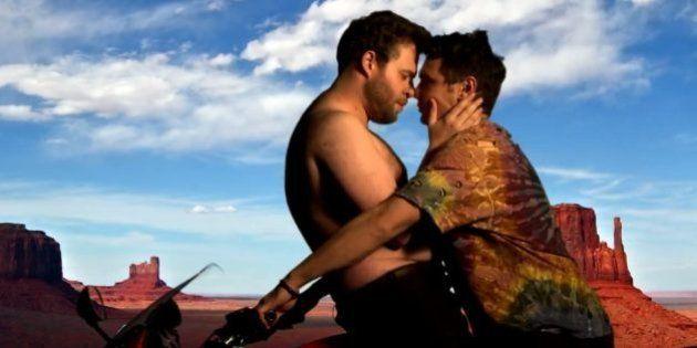 VIDÉOS. Mariage de Kanye West et Kim Kardashian: James Franco et Seth Rogen déclinent