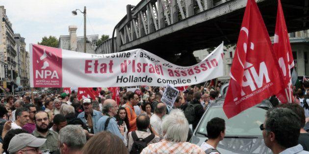 Manifestation pro-Palestine: la gauche de la gauche appelle à manifester mercredi malgré les