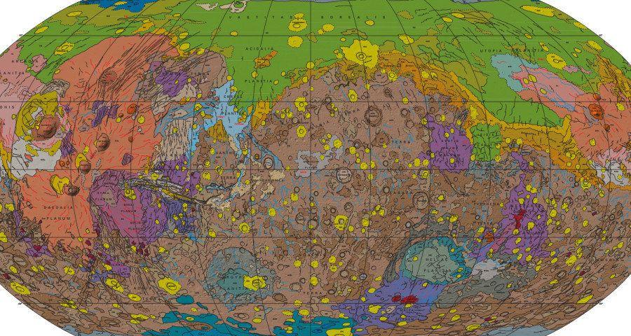 La carte de Mars la plus détaillée jamais