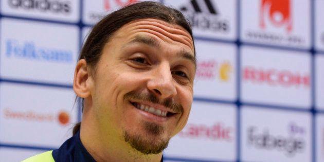 Zlatan Ibrahimovic dit avoir placé la France
