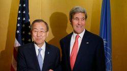 Gaza: près de 600 morts, Ban et Kerry tentent d'arracher un