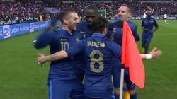 Quand le duo Valbuena - Benzema marquait contre