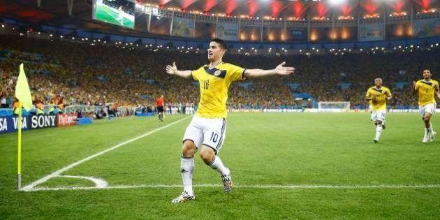 James Rodriguez : le Real Madrid pique le meilleur buteur du Mondial à