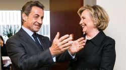 Nicolas Sarkozy est fier d'avoir pu rencontrer Hillary