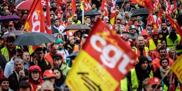 La manifestation pro-Palestine autorisée car le service d'ordre a été renforcé par la CGT, le PCF, le...