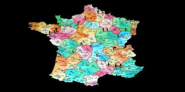 La réforme territoriale votée à l'Assemblée, la guerre des cartes peut