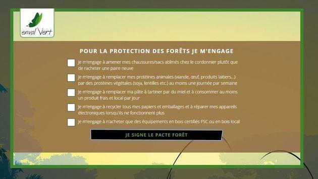 Impact de la consommation sur les forêts: On a calculé notre