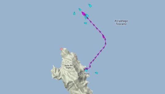 CARTE INTERACTIVE - Suivez le Costa Concordia en