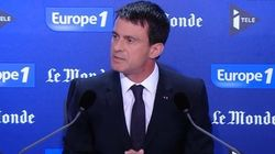 Après les attentats, Valls évoque une