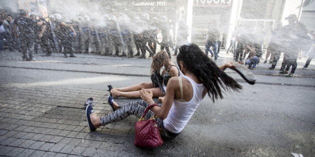 VIDÉOS. Turquie : la Gay Pride d'Istanbul sévèrement réprimée par la
