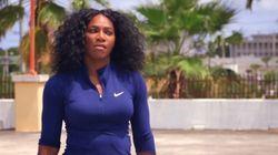Ne dites plus jamais à Serena Williams qu'elle est douée pour une