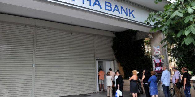 Grèce : les banques et la Bourse d'Athènes resteront fermées