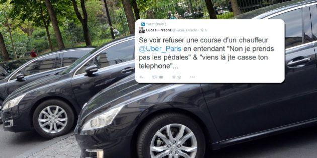 Un chauffeur de VTC radié après avoir insulté et refusé de ramener des clients