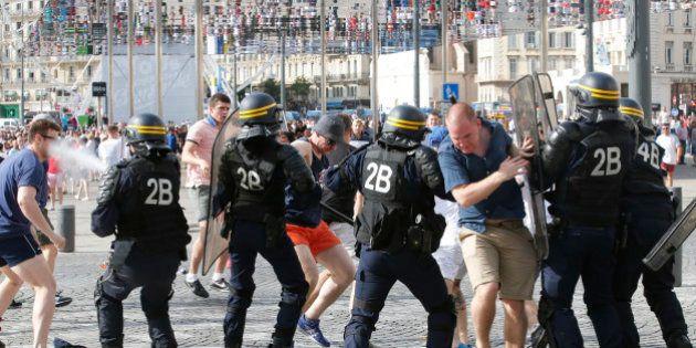 Euro 2016: dix personnes en garde à vue après les violences à