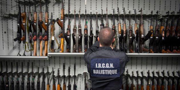 Un plan contre le trafic d'armes: les chiffres à connaître sur la circulation des armes à feu en