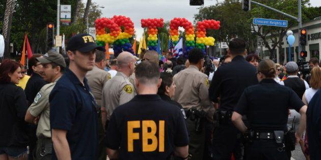 Un homme, James Howell, arrêté à Los Angeles alors qu'il voulait attaquer la Gay