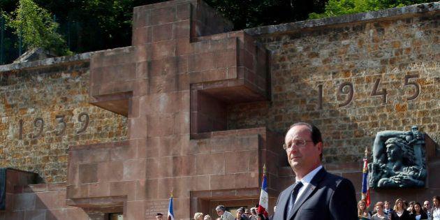 Hollande sur la tombe du général De Gaulle, une première qui