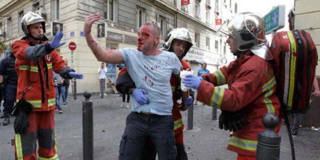 Après les violences à Marseille en marge de l'Euro-2016, trois supporters écopent de prison