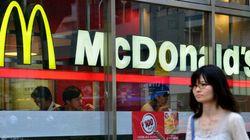 Une cliente d'un McDo japonais blessée par des morceaux de plastique dans sa