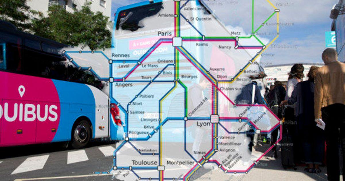ouibus, flixbus, isilines quel service de bus longue distance
