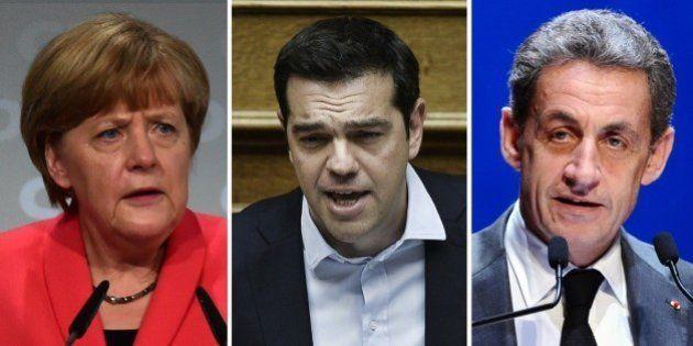 Crise grecque : de Sarkozy à Merkel, la droite européenne enterre