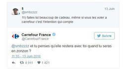 La réponse improbable de Carrefour aux conseils séduction d'un