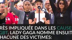 L'émouvant hommage de Lady Gaga aux victimes de la tuerie