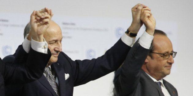 Hollande ratifie l'accord de Paris sur la COP21: les engagements de la