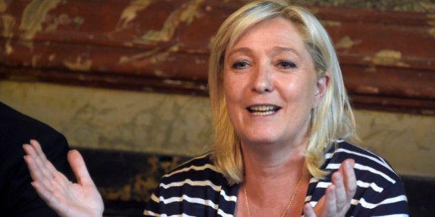 Élections régionales 2015 : Marine Le Pen candidate dans le