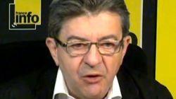 Mélenchon rend hommage à Pasqua (et révèle ses talents