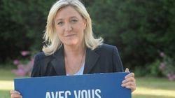 La photo de campagne de Marine Le Pen vaut le