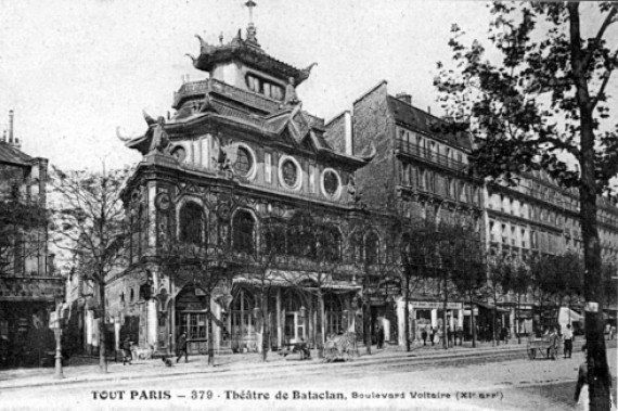 Le Bataclan, haut lieu historique de la nuit