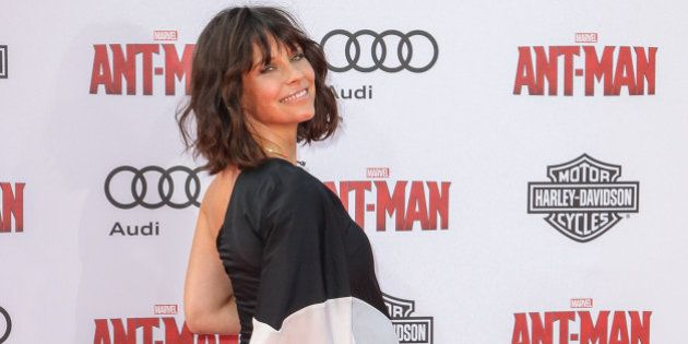Evangeline Lilly attends the world premiere of Marvel's 'Ant-Man' at the Dolby Theatre on Monday, June...