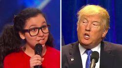 Cette jeune humoriste a mouché Donald