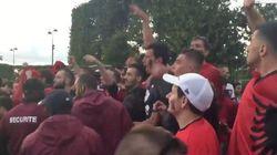 Tensions avec les Albanais sur la fan zone de