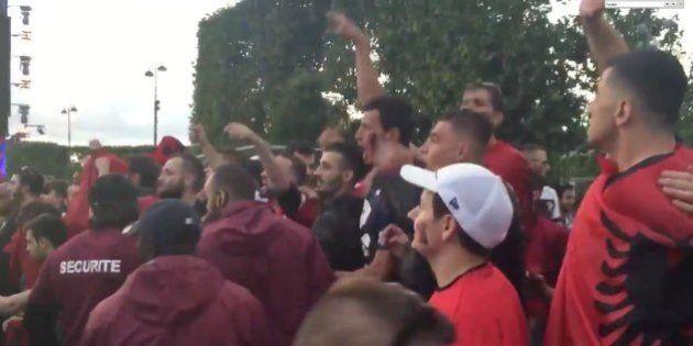 VIDÉO. France-Albanie: ambiance tendue quelques instants sur la fan zone de Paris entre supporters, la...