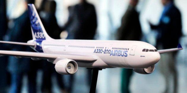Airbus décroche une commande géante de la Chine pour 18 milliards de