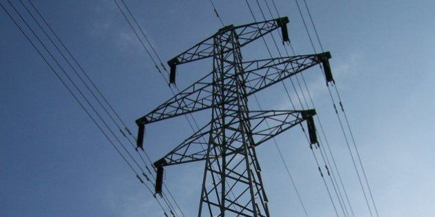 An electricity pylon I bumped into during a walk along Saxon Meadow, Warwick. As a child I was fascinated...