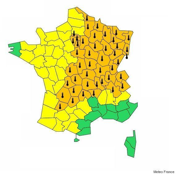 Canicule : Les prévisions météo en France mercredi 1er juillet, deuxième jour de la vague de