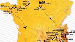 Le parcours du Tour de France 2015 officiellement