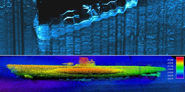 Un sous-marin de la Seconde Guerre mondiale retrouvé au fond de